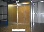 Dry Filter 3m Centrifugal (Low Noise) Spray Booth for sale