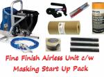 Graco GX FF Airless sprayer c/w Masking Start Up Kit