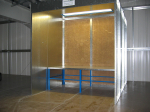 Dry Filter spray booth- centrifugal
